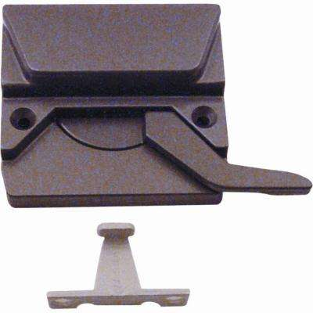 Low-Profile Casement Window Sash Lock