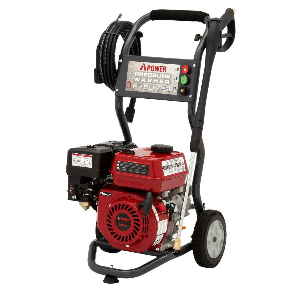 A-iPower 2700 PSI 2.3-GPM Gas Pressure Washer