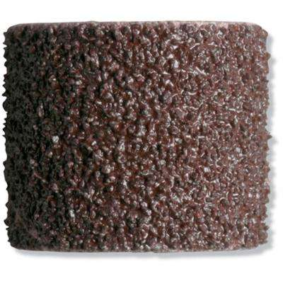 1/2 in. 60-Grit Sanding Bands for Wood, Fiberglass, Rubber, and Metal (6-Pack)