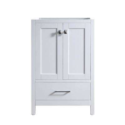 Caroline Madison 24 in. W x 22 in. D Bath Vanity Cabinet Only in White