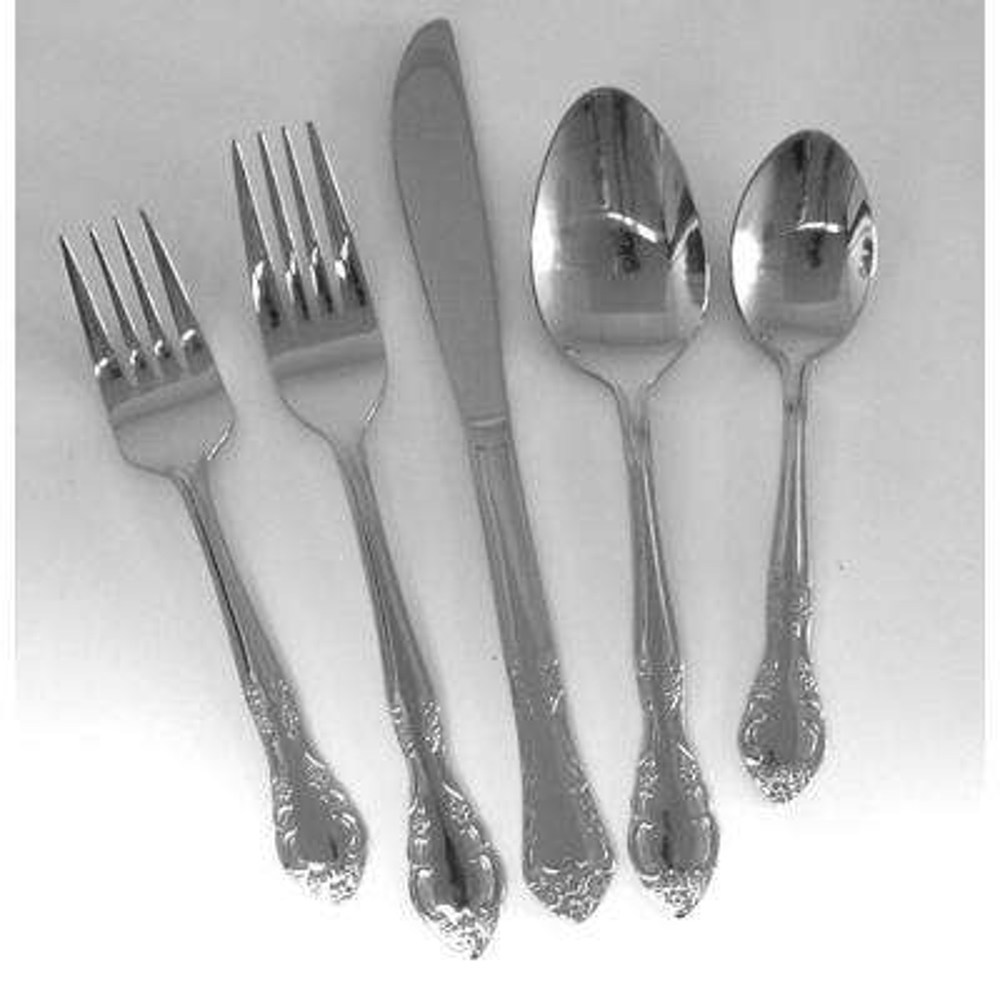 Utica Cutlery Company Trellis 20 Pc Service for Four