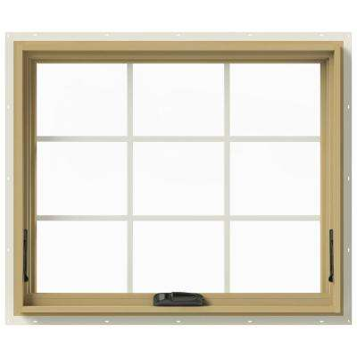 36 in. x 30 in. W-2500 Awning Aluminum Clad Wood Window