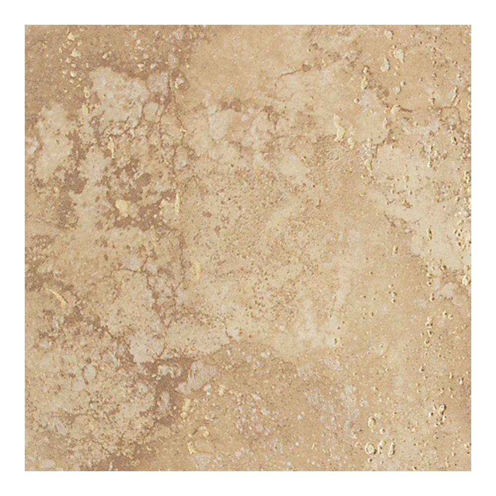 Daltile canaletto noce 18 in x 18 in glazed porcelain for 18x18 window