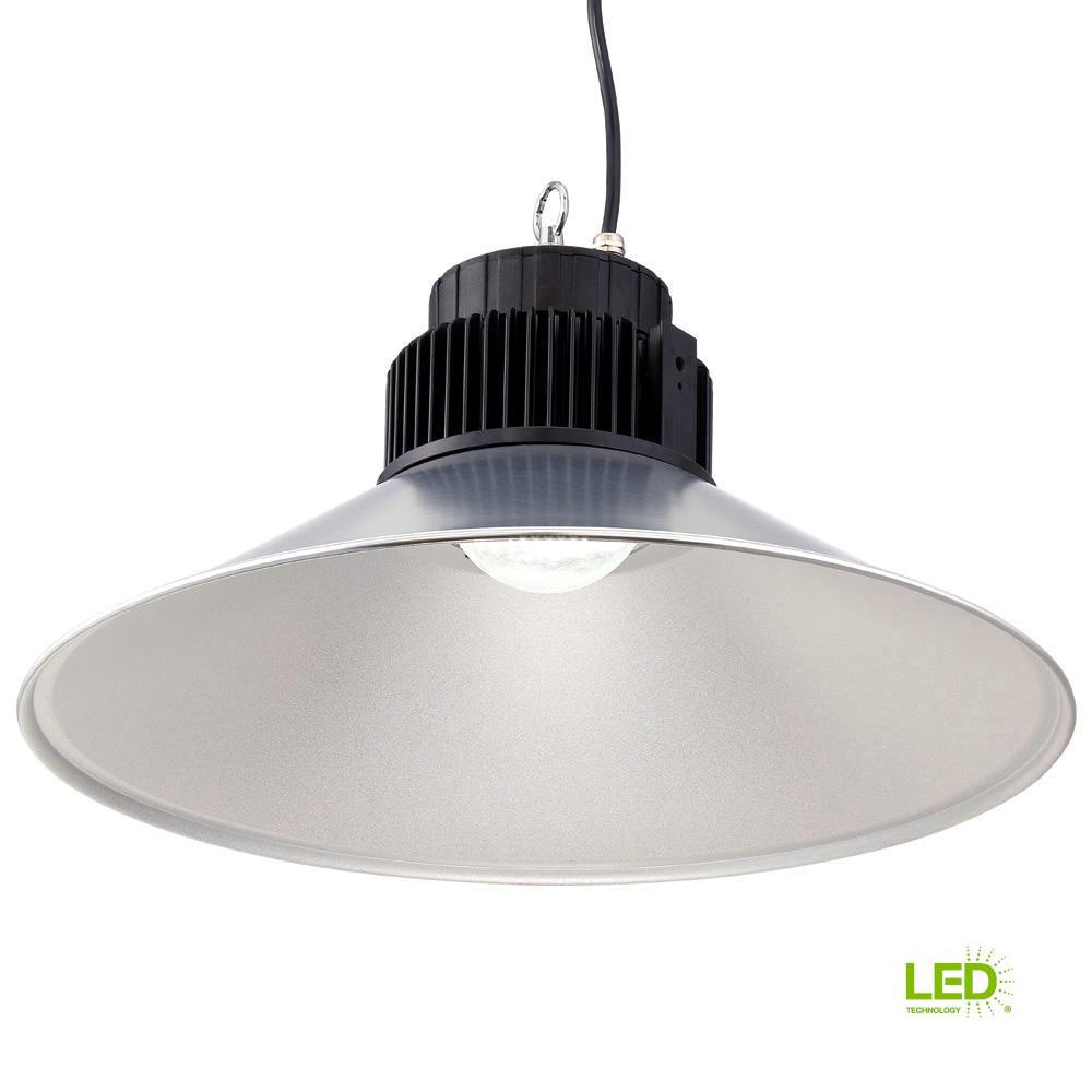 21 in. Dia LED Backlit High Bay 5,000 CCT Hanging Light