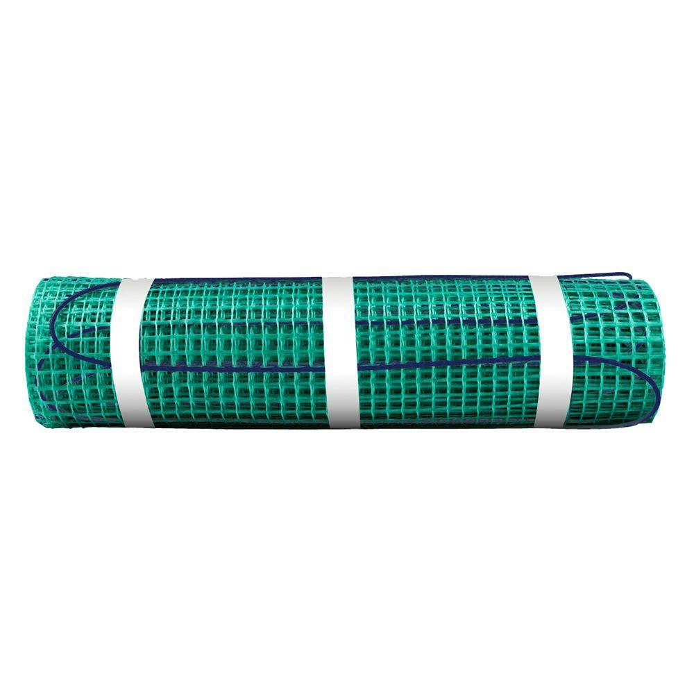 27 ft. x 18 in. 120-Volt TempZone Floor Warming Mat (Covers 40.5 sq. ft.)