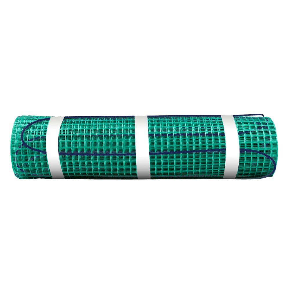 WarmlyYours 60 ft. x 18 in. 120-Volt TempZone Floor Warming Mat ...