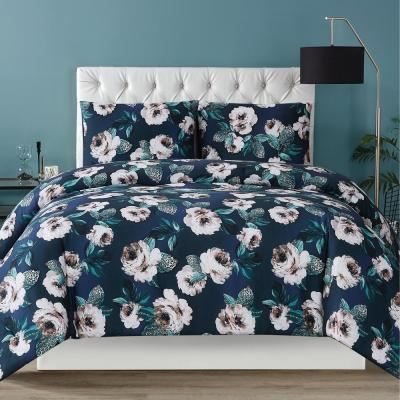 Mags Floral 3 Piece Multi Full/Queen Duvet Cover Set