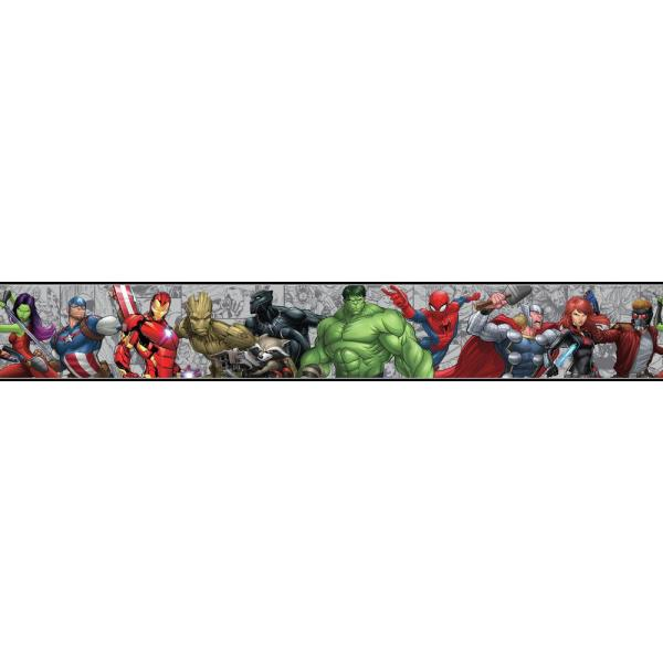 York Wallcoverings Disney Kids Iii Marvel Characters