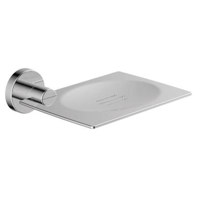 Dia Wall-Mounted Soap Dish in Polished Chrome