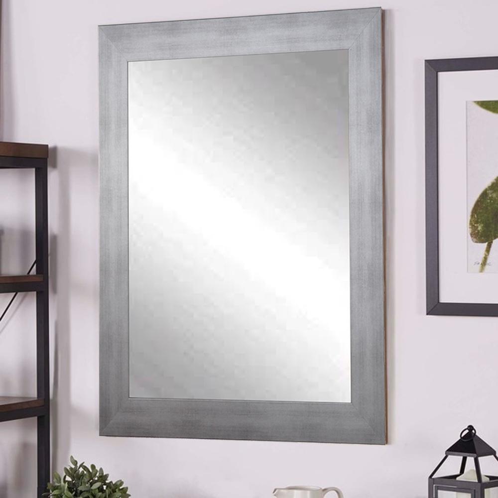 Timberwolf Silver Decorative Wall Mirror