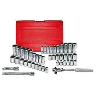 45-Piece Spline Socket Set