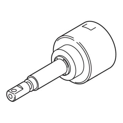 Non-Shared 3-Function Diverter Cartridge Assembly