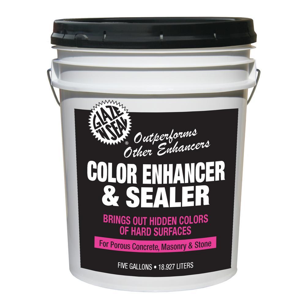 Glaze 'N Seal 5 gal. Stone Color Enhancer Waterproofing Sealer
