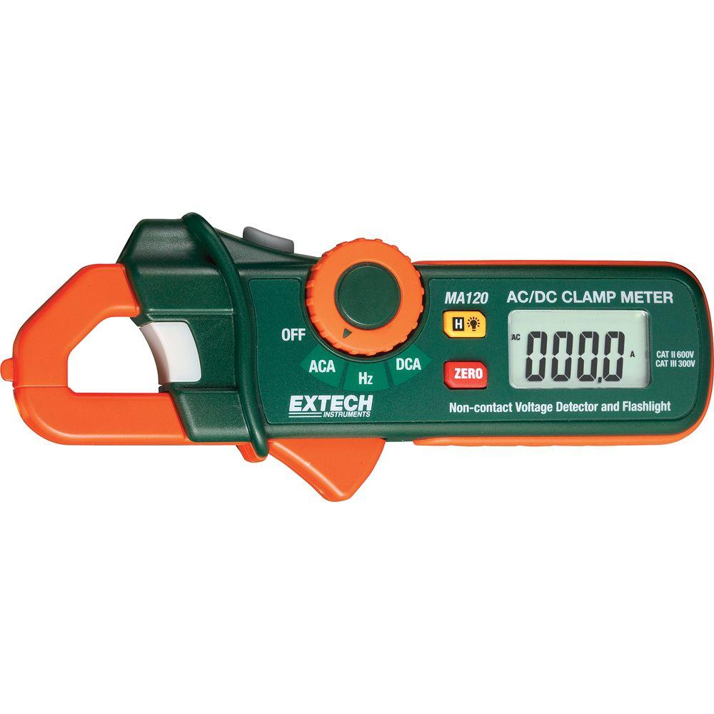 Extech Instruments 200-Amp AC/DC Mini Clamp Meter and-Voltage Detector