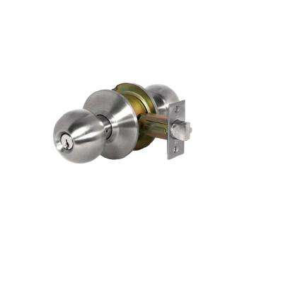 SVB Series Grade 2 Satin Stainless Steel Storeroom Function Commercial Knob