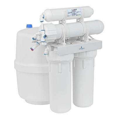 Four Stage 23.3 GPD Reverse Osmosis Water Treatment System