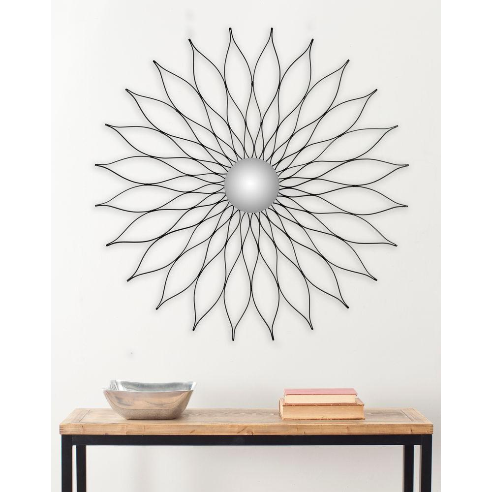 Safavieh Marigold 36 in. x 36 in. Iron and Aluminum Framed Mirror