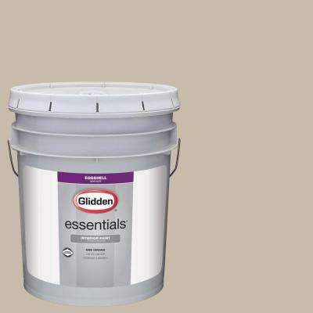 5 gal. #HDGWN58 Tawny Grey Eggshell Interior Paint