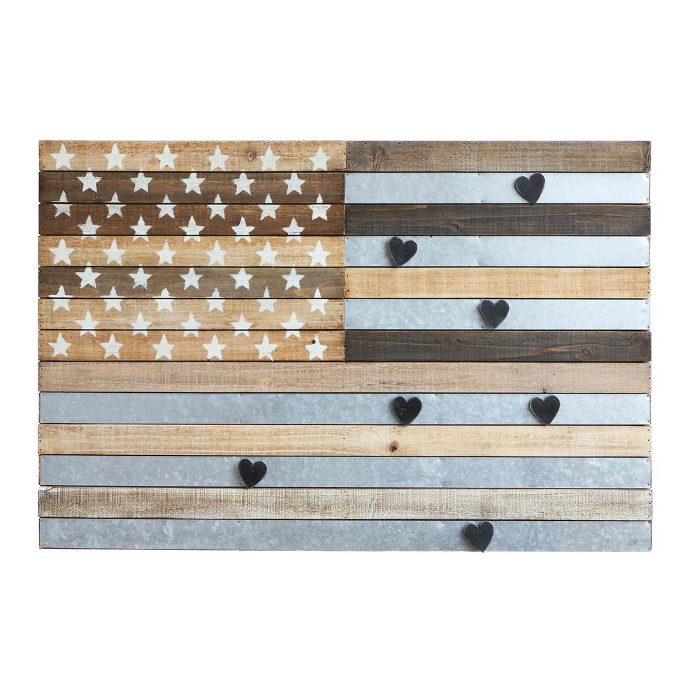 American Flag Magnetic Memo Board