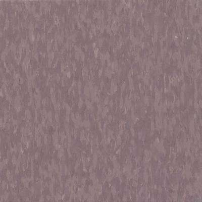 Take Home Sample - Imperial Texture VCT Dusty Plum Commercial Vinyl Tile - 6 in. x 6 in.
