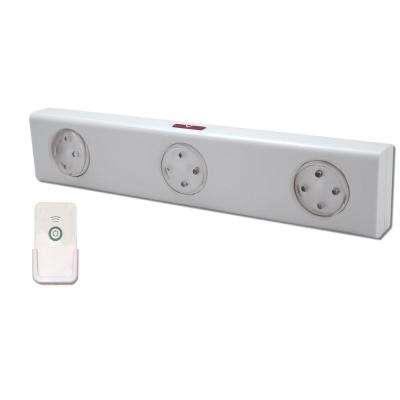 LED White Wireless Under Cabinet Light with Remote Control