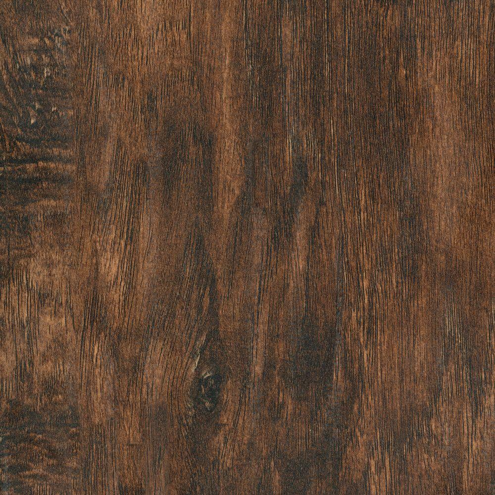 Home Legend Hand Scraped Hickory Baja 12 Mm Thick X 6.14 In. Wide X 50.55 In. Length Laminate Flooring (17.25 Sq. Ft. / Case), Dark