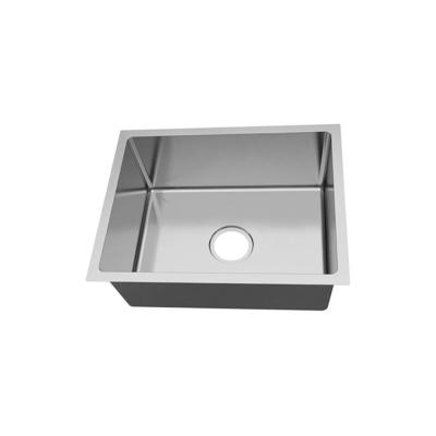 Undermount 18 Gauge Stainless Steel 23-in 0-Hole Single Bowl Kitchen Sink