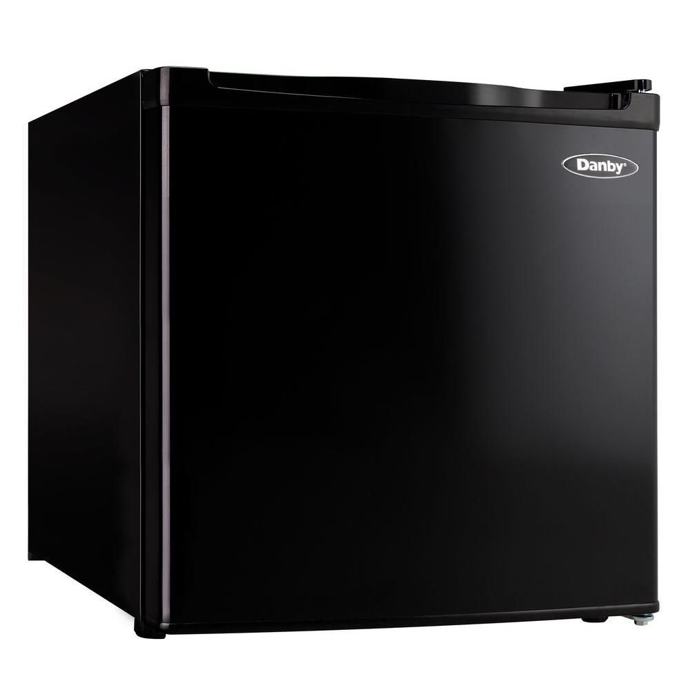 ec0a40b4ad0 Danby 1.6 cu. ft. Mini Fridge in Black-DCR016C1BDB - The Home Depot