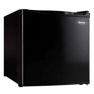 1.6 cu. ft. Mini Refrigerator in Black