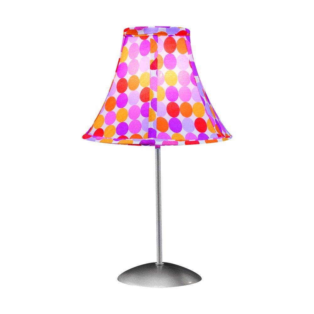 Lumisource 15.5 in. Red and White Table Lamp-DISCONTINUED
