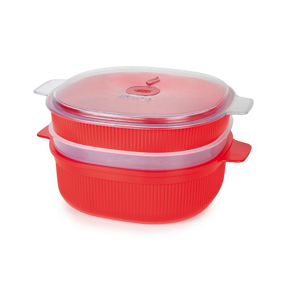 4 L Microwave Dish Steamer