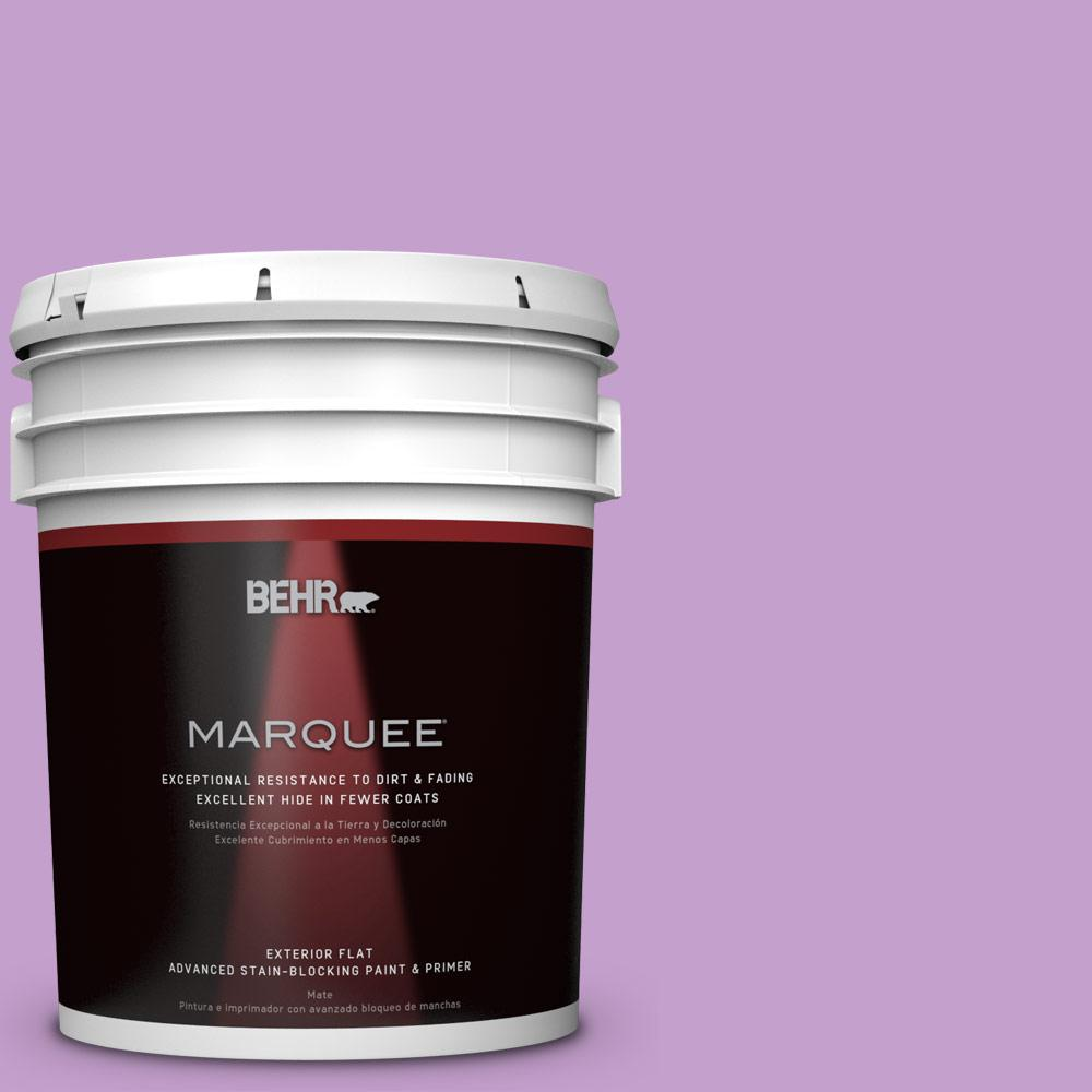 5-gal. #P100-4 Lover's Knot Flat Exterior Paint
