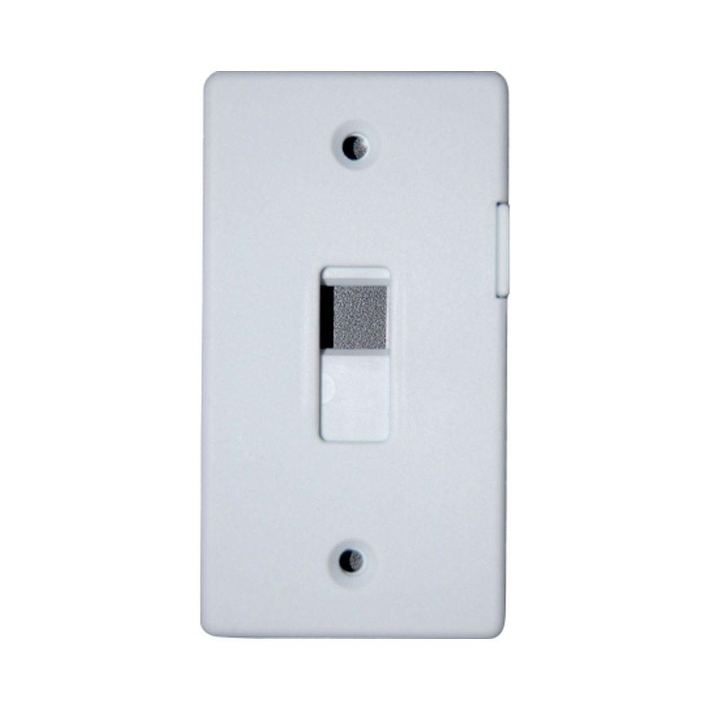 Adamax switch lock plate white slgwh the home depot sciox Choice Image
