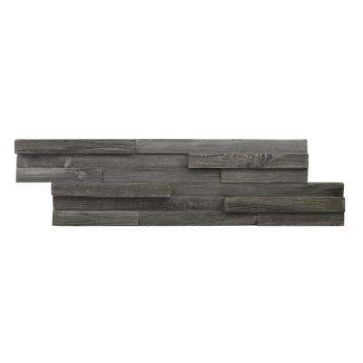 1-3/8 in. x 7 in. x 26-1/2 in. Grey Reclaimed Wood Plank (8-Panels) (10.4 sq. ft./Case)