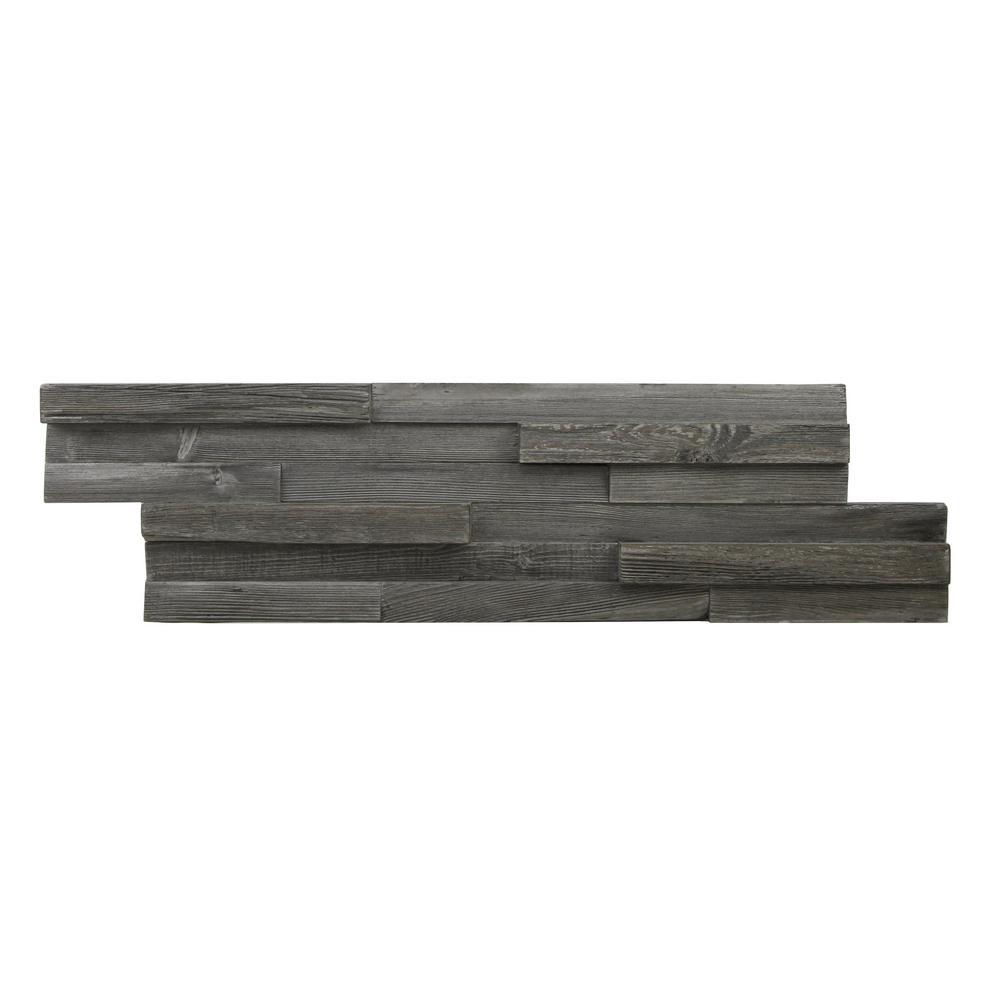 Kingsman Hardware 1-3/8 in. x 7 in. x 26-1/2 in. Grey