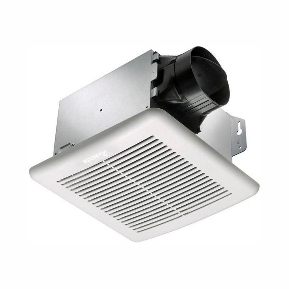 GreenBuilder Series 100 CFM Wall or Ceiling Bathroom Exhaust Fan, ENERGY STAR