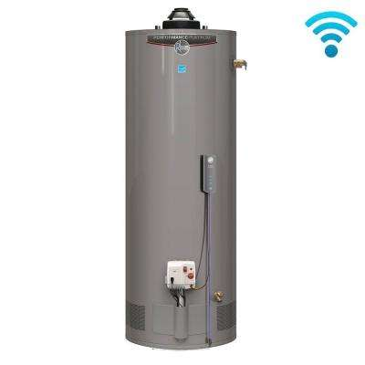 Performance Platinum 50 Gal. Tall 12 Year 40,000 BTU Natural Gas ENERGY STAR Tank Water Heater with WiFi Module Included