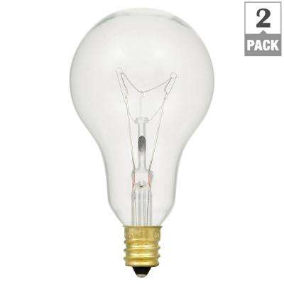 60-Watt Double Life A15 Incandescent Light Bulb (2-Pack)