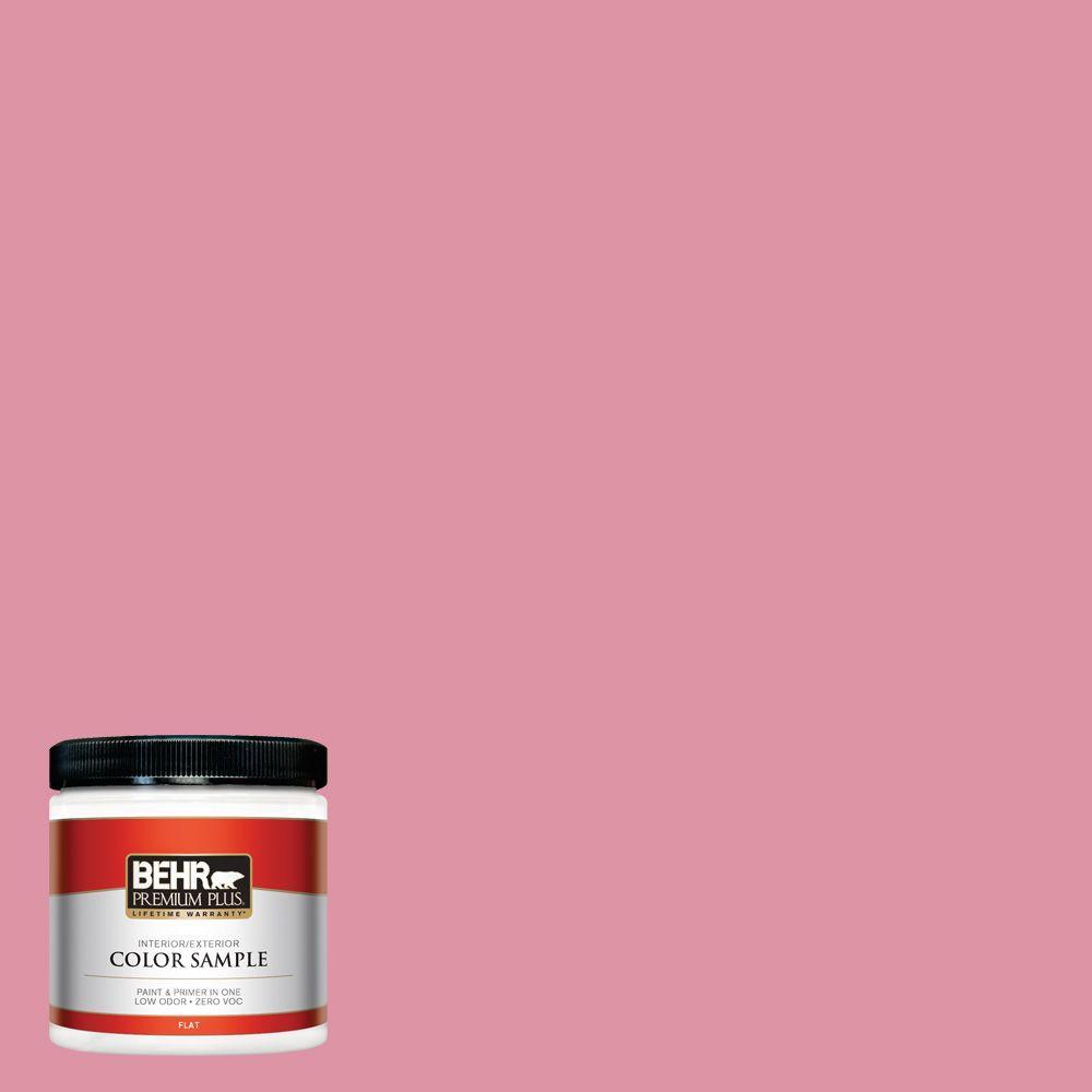 BEHR Premium Plus 8 oz. #120C-3 Rose Marquis Interior/Exterior Paint Sample