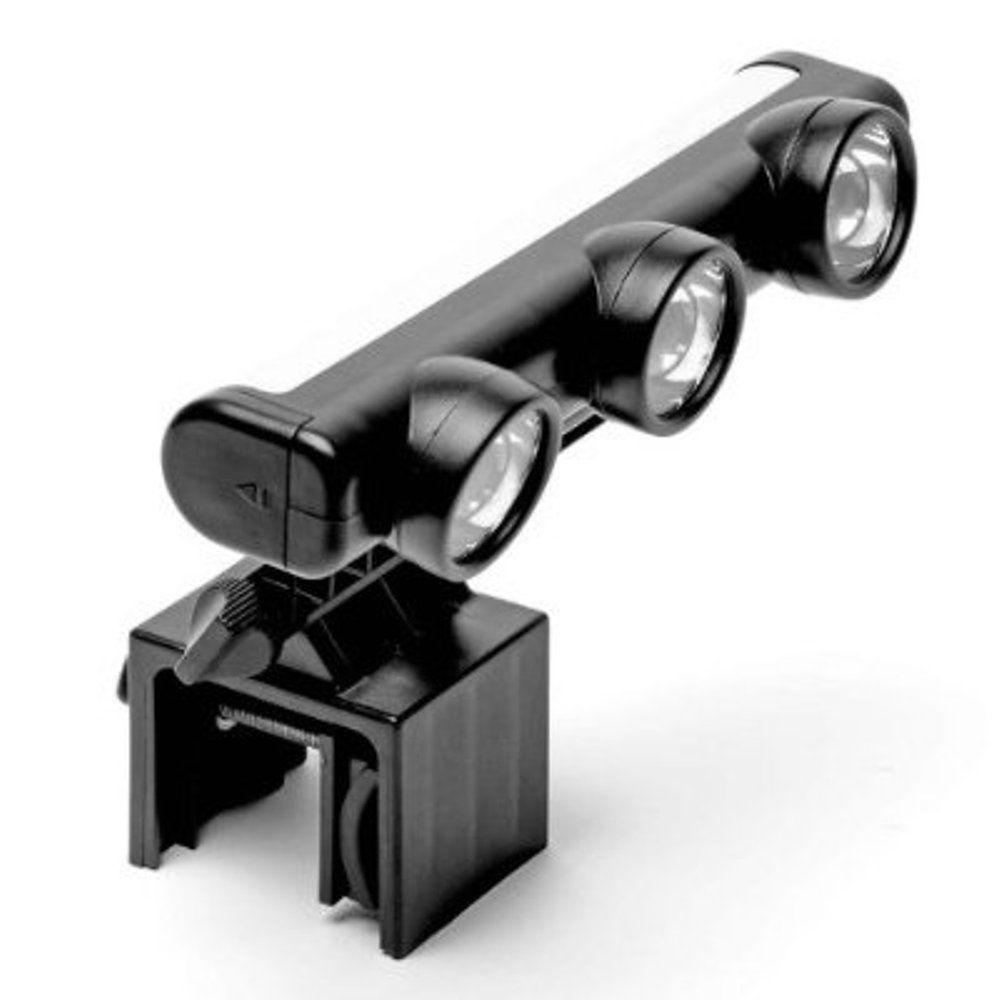 Adjustable 3-Head LED Grill Light