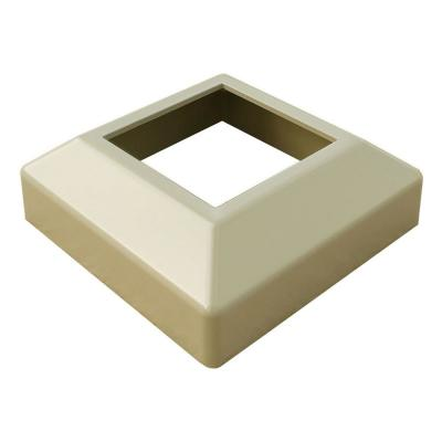 3 in. x 3 in. Clay Aluminum Low Profile Base Cover
