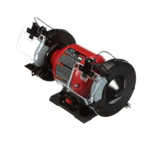 Skil 2.1 Amp Corded Electric 6 inch Corded Electric Bench Grinder with LED Light by Skil