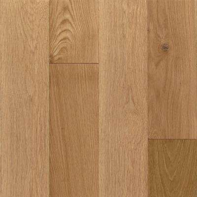 American Vintage Nat White Oak 3/4 in. Thick x 5 in. W x Random Length Solid Scraped Hardwood Floor(23.5 sq. ft. / case)
