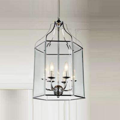 Maury 6-Light Chrome Chandelier