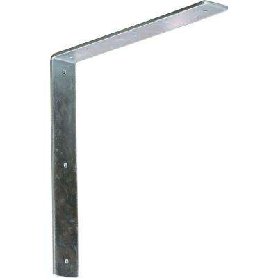 14 in. x 2 in. x 14 in. Steel Unfinished Metal Hamilton Bracket
