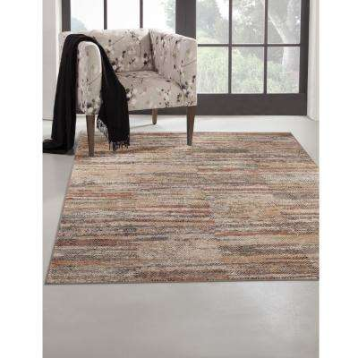 Sonoma Cason Ivory/Grey/Multi 5 ft. 3 in. x 7 ft. 6 in. Area Rug