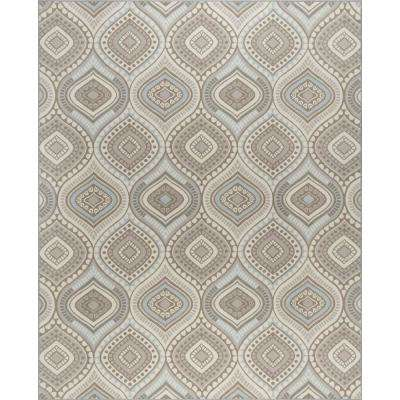 Majesty Taupe 6 ft. 7 in. x 9 ft. 6 in. Area Rug