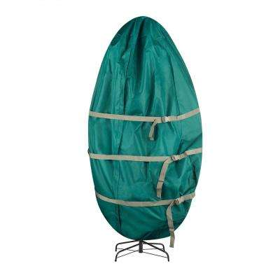 Premium Canvas Christmas Tree Storage Bag for Trees Up to 9 ft. Tall