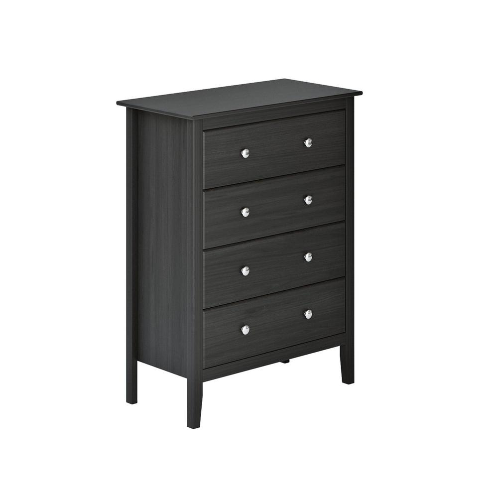 Beau Easy Pieces 4 Drawer Espresso Chest