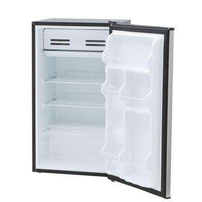 3.3 cu. ft. Mini Refrigerator in Stainless Steel, ENERGY STAR